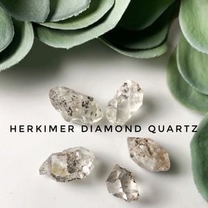 Herkimer Diamond Quartz | 5 Piece